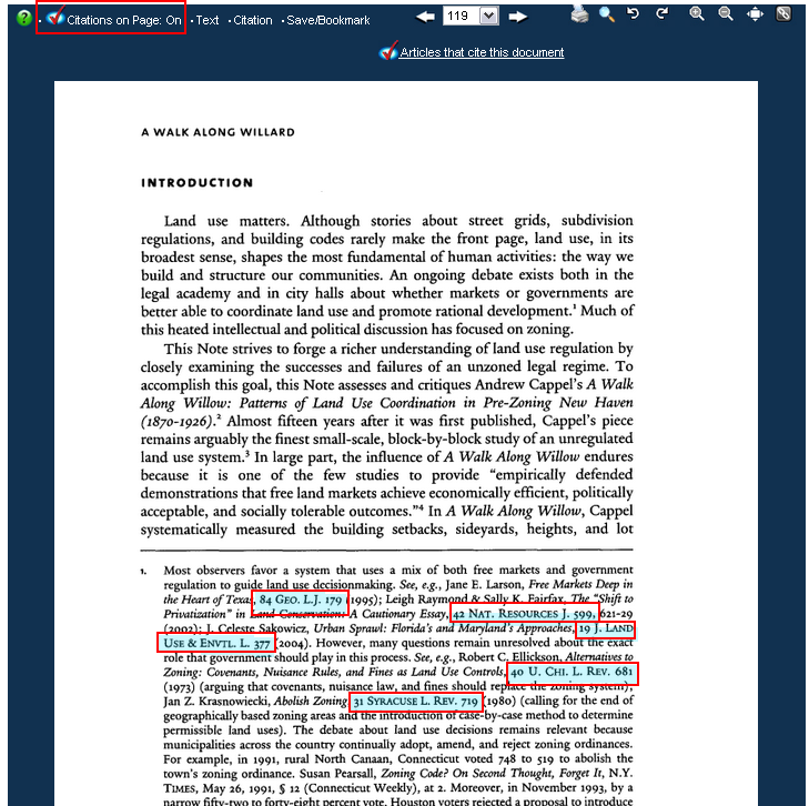 I See A Citation In The Footnote Of The Text I Am Viewing