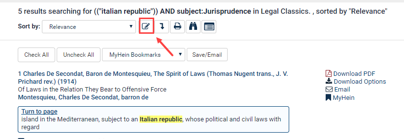 How Do I Search by Subject in Legal Classics? | HeinOnline
